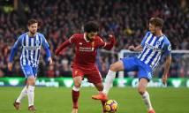 KẾT QUẢ Liverpool - Brighton: Salah mở màn,