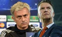 Van Gaal chê bai chiến thuật của Mourinho nhàm chán