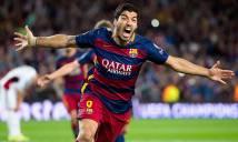 Suarez lọt vào top 4 chân sút hàng đầu của Uruguay tại La Liga