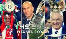 Đề cử rút gọn HLV xuất sắc nhất năm 2016: 2 thầy của Ronaldo đều góp mặt