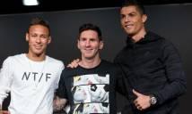 Neymar: 'Đối với tôi, chỉ Messi xứng đáng giành BQV'