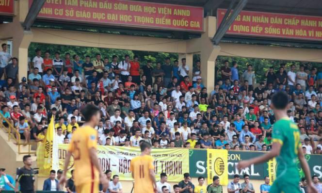 V-League xa cách, khán giả đìu hiu