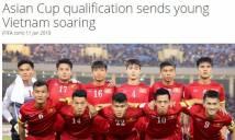 FIFA khen ngợi sự thăng tiến của đội tuyển Việt Nam