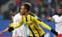 Aubameyang lập poker, Dortmund đại thắng đội cuối bảng Hamburger