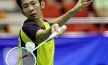 Tiến Minh thua sốc tay vợt hạng 182 thế giới ở vòng 2 Indonesia International
