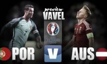 [Infographic] Bồ Đào Nha vs Áo: Nỗi khổ của kẻ mạnh