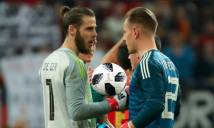 Tin HOT bóng đá sáng 19/4: Thủ môn Barca an ủi De Gea sau trận đấu thảm họa