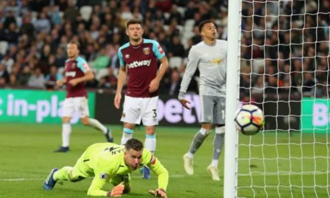 KẾT QUẢ West Ham - MU: Tấn công máu lửa, khô hạn bàn thắng