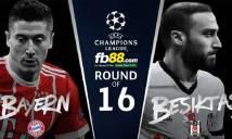 Nhận định Bayern vs Besiktas, 02h45 ngày 21/2 (Lượt đi vòng 1/8 Champions League)