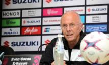 HLV Eriksson: Việt Nam đang là đội bóng mạnh nhất thời điểm này