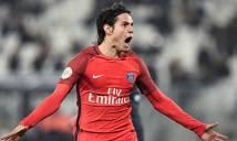 Cavani lập cú đúp siêu phẩm, PSG vùi dập Bordeaux không thương tiếc