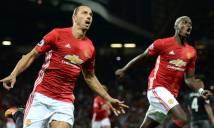 Với bộ đôi Pogba và Ibrahimovic, MU thật sự đáng gờm