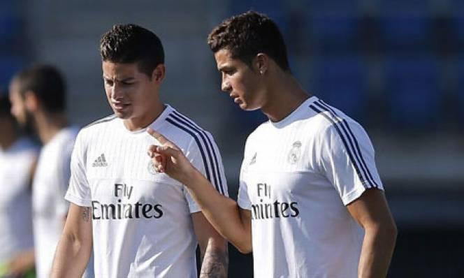 James có thể là đối thủ của Real ở Champions League