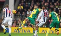 West Brom vs Norwich City, 22h00 ngày 19/03: Thử thách khó nhằn