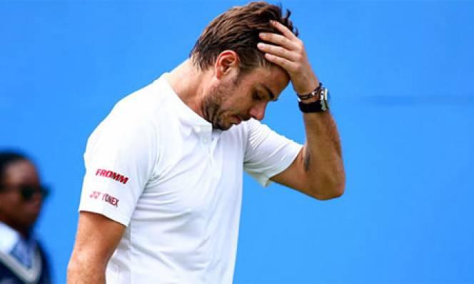 Wawrinka thua sốc, Murray nhọc nhằn đi tiếp ở Queen's Club