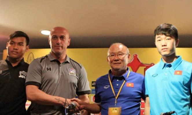 HLV Park Hang-seo nắn gân người Thái trước đại chiến U23 Việt Nam - U23 Thái Lan