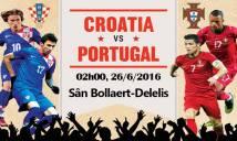 [Infographic] Croatia vs Bồ Đào Nha: Ma trận hình vuông