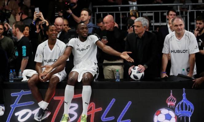 HLV Mourinho bất ngờ có sự phục vu của 'Tia chớp' Usain Bolt