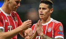Ghi bàn, James Rodriguez chắp tay xin lỗi CĐV Real