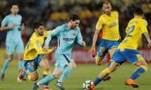 Chấm điểm Las Palmas 1-1 Barcelona: Suarez, Paulinho mất dạng, Messi cô đơn