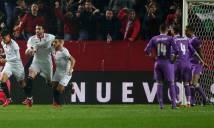 Trò cưng của Zidane bị nhục mạ sau trận hòa Sevilla