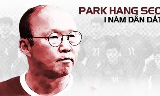 Những dấu mốc của HLV Park Hang Seo trong năm đầu với bóng đá Việt Nam