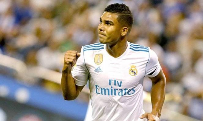 Casemiro tạo nên kỷ lục tại Real Madrid: Không thể thay thế