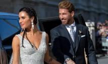 Ramos mặc vest trông như tài tử Hollywood trong ngày cưới