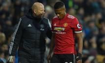Valencia dính chấn thương gân kheo, Mourinho lo nơm nớp