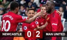 Newcastle 0-2 M.U: Thắng trận thứ 4 liên tiếp, M.U tiếp cận Top 4