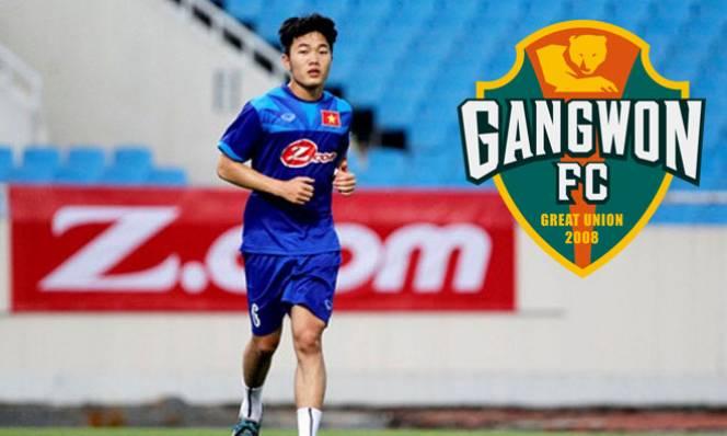 Xuân Trường chính thức có lần đầu tiên ra mắt Gangwon FC ở vị trí xuất phát