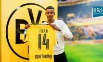 Chuyển nhượng ngày 24/1: Dortmund chính thức có thần đồng Thụy Điển