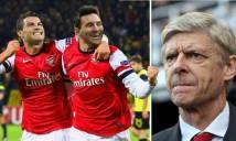 Đội hình 'cân cả thế giời' Arsenal mua hụt vì...tiếc vài đồng