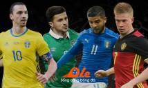 Nhận định tổng quan bảng E tại EURO 2016: Sức mạnh của Bỉ và nỗi buồn Italia