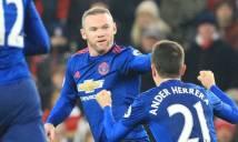 Sau vòng 22 Premier League: Điểm nhấn Rooney và trọng tài