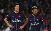 """Neymar nhận kết cục """"đắng"""" vụ tranh đá penalty với Cavani"""