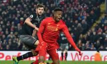 Những thống kê đáng chú ý sau trận thua của Liverpool