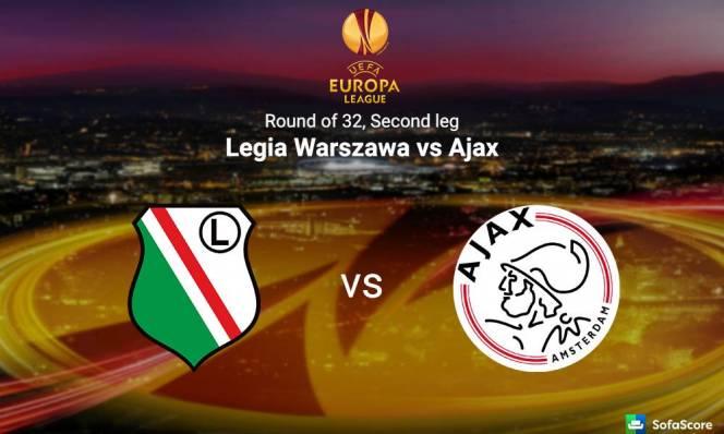 Legia Warszawa vs Ajax, 03h05 ngày 17/02: Món nợ khó đòi