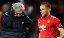 """Hậu trường M.U dậy sóng vì Mourinho """"đì"""" Shaw"""