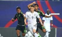 Chỉ có 1 điểm sau 2 trận, U20 Đức đứng trước nguy cơ về nước sớm