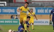 KẾT QUẢ V-League: Phan Văn Đức ghi 2 bàn, SLNA vẫn 'suýt chết' trước Cần Thơ