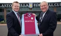 NGÀY NÀY NĂM XƯA: Aston Villa ký hợp đồng áo đấu với tổ chức từ thiện