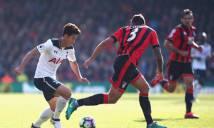 Chia điểm tại Vitality, Tottenham lỡ cơ hội chiếm ngôi đầu bảng