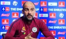 """CHOÁNG: Pep Guardiola bất ngờ bị FA """"sờ gáy"""""""