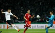 KẾT QUẢ Bayern Munich - Frankfurt: tân HLV khiến Bayern gục ngã