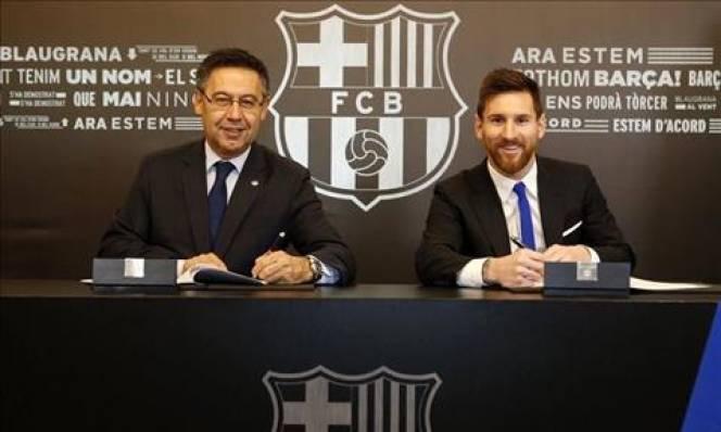 'Gia hạn hợp đồng mới, Messi vẫn có thể ra đi'