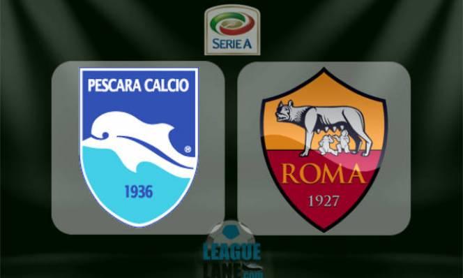Pescara vs Roma, 01h45 ngày 25/04: Chiến thắng trong tầm tay