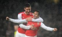 Góc Arsenal: Giroud & Sanchez, những cảm xúc khác biệt!