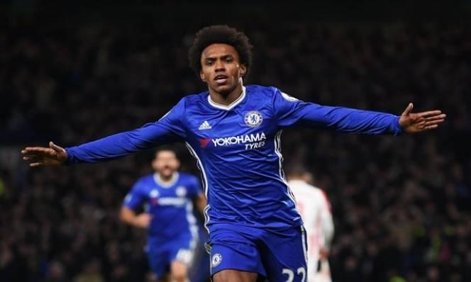 5 điểm đến lý tưởng cho Willian nếu rời Chelsea