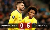 Dynamo Kiev 0-5 Chelsea: The Blues vào tứ kết